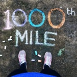 Hitting 1000 miles for the year