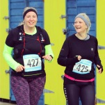 10 mile race with Martha